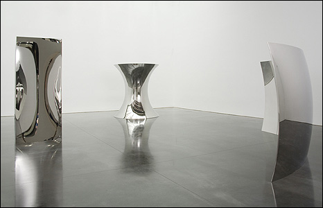 Non Object (Door), 2008; Non Object (Pole), 2008; Vertigo, 2008