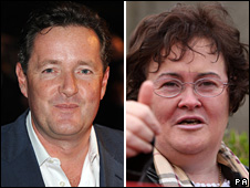 Piers Morgan and Susan Boyle