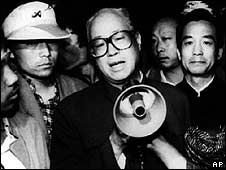 Zhao Ziyang appeals to student protesters (19 May 1989)
