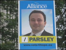 Ian Parsley (Alliance)