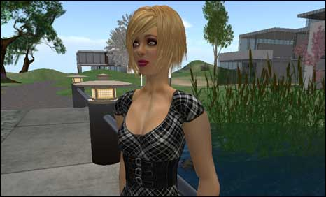 Pauline Randall's Second Life alter ego Liz May