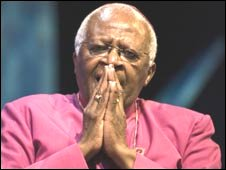 Archbishop Desmond Tutu (Photo courtesy: Hay Festival)