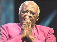 Archbishop Desmond Tutu (Photo courtesy: Hay Festival)