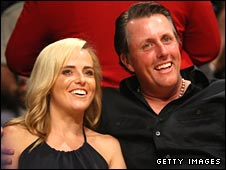 Phil and Amy Mickelson have three children