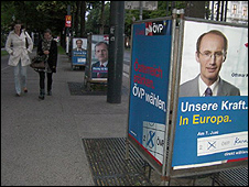 Poster for centre-right OeVP