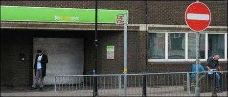 Luton job centre