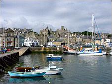 Lerwick, Shetland (Pic courtesy of Undiscoverd Scotland)