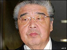 Undated image of Sumo stable master Junichi Yamamoto (Tokitsukaze)