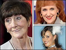 June Brown, Anita Dobson and Jill Halfpenny