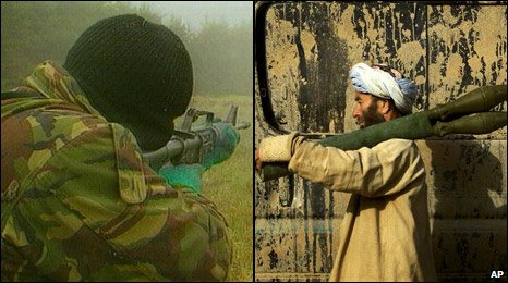 IRA gunman and Taliban fighter