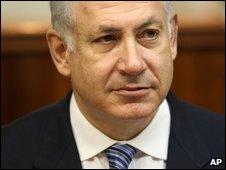 Israeli Prime Minister Benjamin Netanyahu in Jerusalem (14 May 2009)