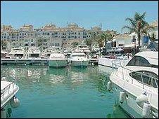 Puerto Banus, southern Spain