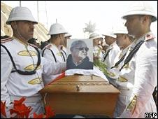 Funeral of Emmanuel Baba Dawud in Baghdad