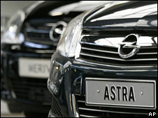 An Opel Astra