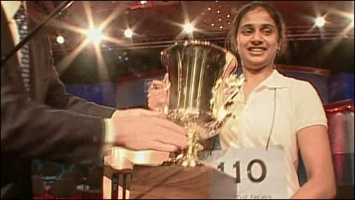 Kavya takes the trophy