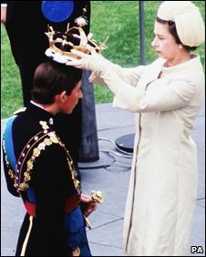 The Prince of Wales' investiture in 1969