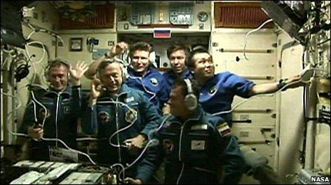 ISS crew (Nasa)