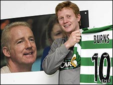 Barry Robson promotes the Tommy Burns Tribute Match