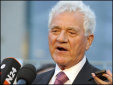 Frank Stronach in Berlin, 28 May