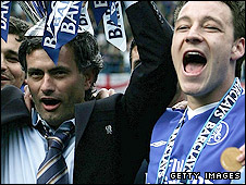 Jose Mourinho (Left) and John Terry