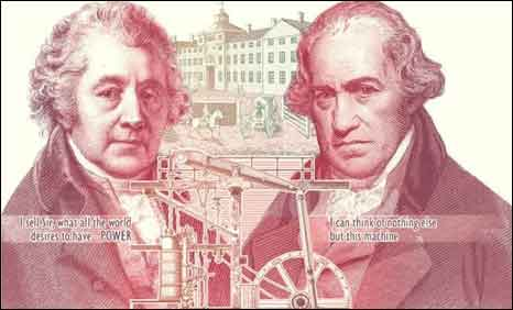 Boulton and Watt bank note