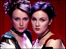 Keeley Hawes as Kitty Butler and Rachael Stirling as Nan Astley