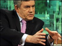 Gordon Brown MP, Prime Minister