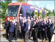 Staff at Midland Metro