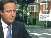 David Cameron MP, leader of the Conservative Party