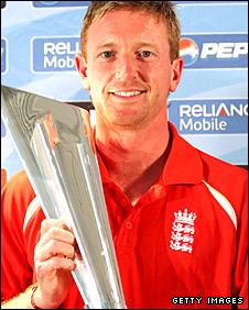 England captain Paul Collingwood