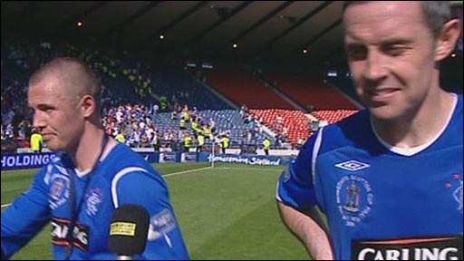 Kenny Miller and David Weir