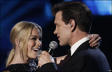 Le-Ann Rimes and Chris Isaacs