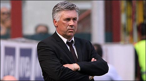 Ancelotti has signed a three-year deal at Chelsea