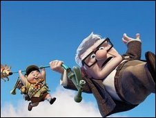A scene from Up