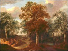 Cornard Wood by Gainsborough
