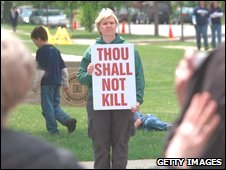 US anti-abortion campaigner