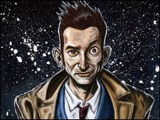 Dr Who painting