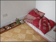Where Gandhi slept in Kingsley Hall