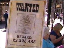 Lottery winner poster