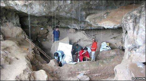 Yuchanyan cave (D Cohen)