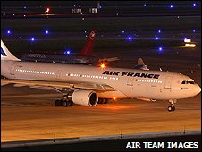 Air France Airbus A330-200 believed to be the missing plane - archive image from AirTeam Images