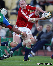 Lions flanker Martyn Williams