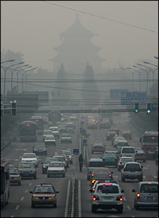 Smog in Beijing, 2007 (Getty)