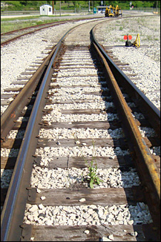 Rail tracks (BBC)