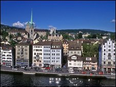 Central Zurich