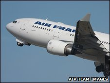 Missing Air France Airbus 330-200 plane F-GZCP