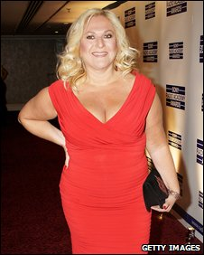 Vanessa Feltz at the Sony radio awards in May 2009