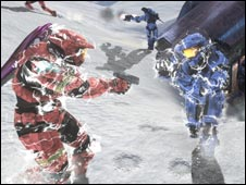 Screen shot from Halo 3