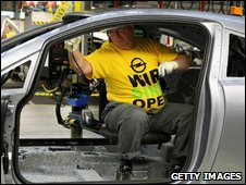 Opel worker in Germany