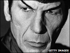 Leonard Nimoy as Mr Spock